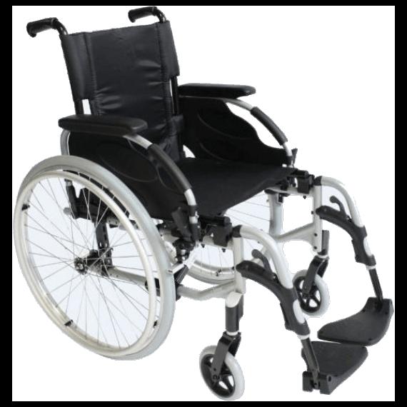 Silla ruedas aluminio Invacare Action2 NG
