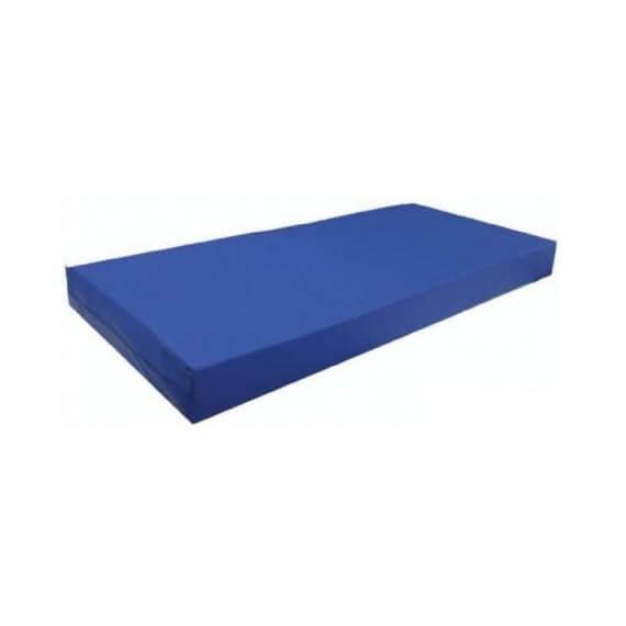 Colchón Viscoelástico P.U.R. Funda Sanitaria Azul 19cms