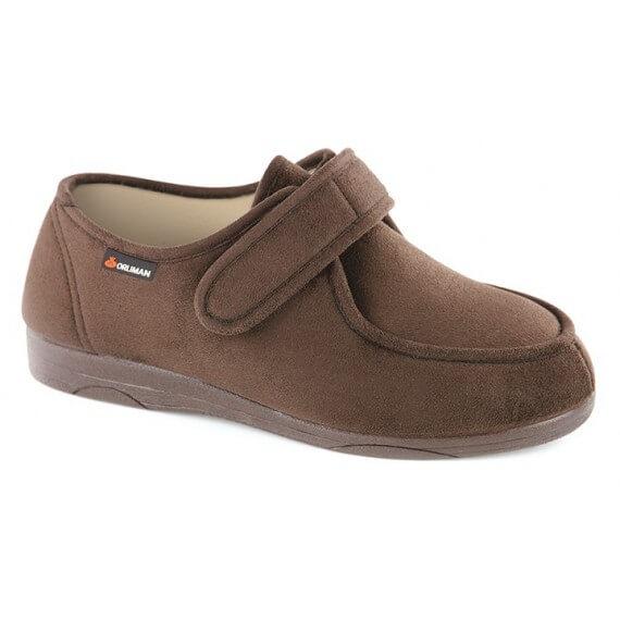 "Zapato Terapéutico ""Quiberon"" Marrón Orliman"