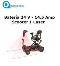 Batería 24V - 14, 5 Amp Scooter I-Laser de Apex