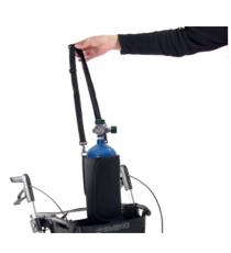 Soporte para Bombonas de Oxígeno Andador Rollator Gemino Sunrise Medical