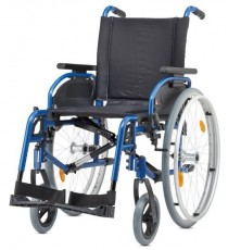 Silla de ruedas aluminio ligera Pyrostart Plus