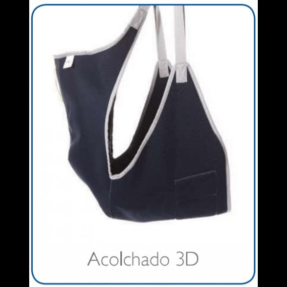 Arnés baño - Asiento Respaldo Acolchado 3D Grúa de Transferencia Winncare