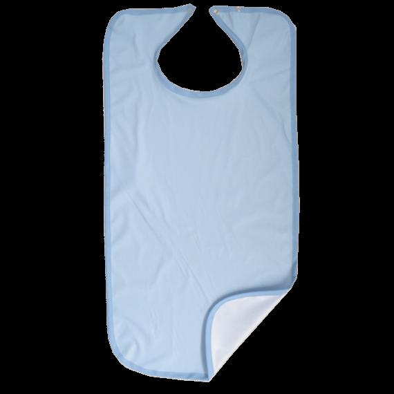 "Babero Azul Microfibra Impermeable ""Confort Pula"" Lugotex"