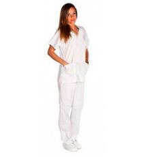 Pantalón Sanitario Blanca Unisex Kinefis