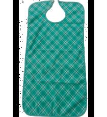 Babero Estampado Verde Microfibra Impermeable 3 Capas