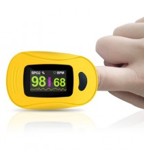 Pulsioximetro digital de dedo con pantalla LED