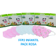 Mascarillas infantiles FFP2 de color rosa