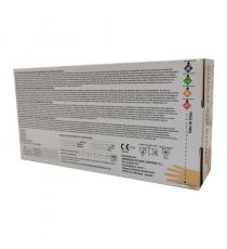 Guantes de vinilo transparente sin polvo