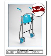 Andador con refuerzo lumbar Alumino Futura Apex medical
